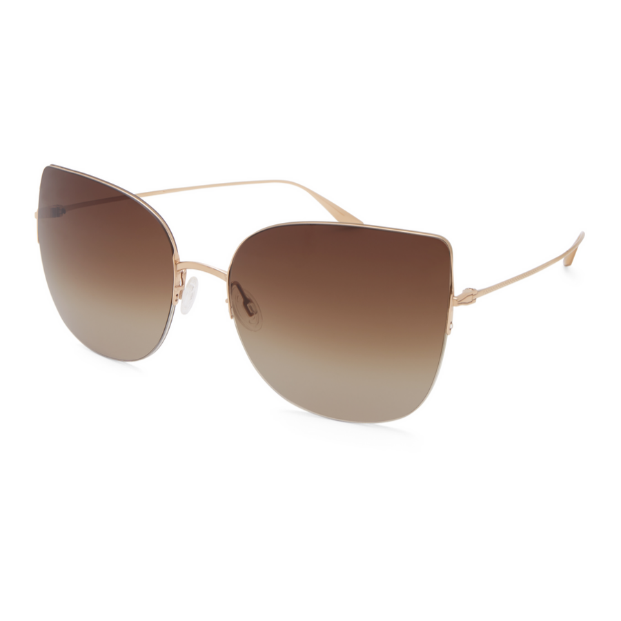Barton Pereira Voyant Gold Umber Gradient Women Sunglasses
