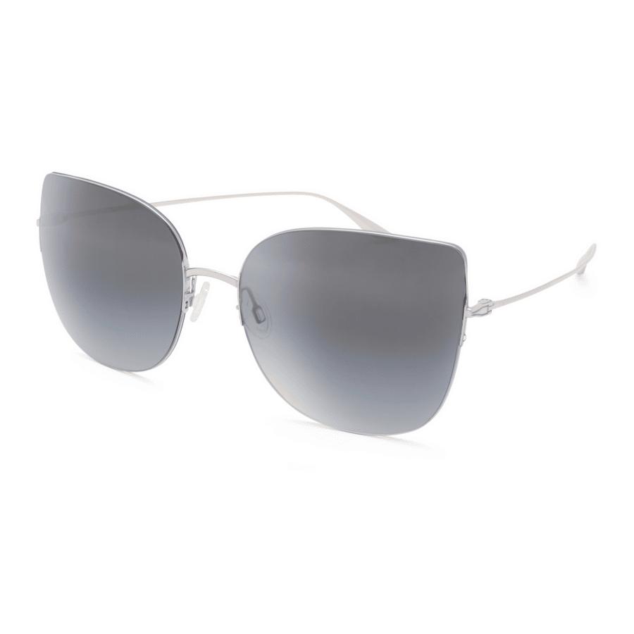 Barton Pereira Voyant Silver Film Noir Women Sunglasses